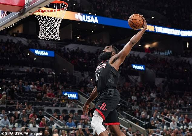 Rockets optimistic NBA acts do when James Harden dunk not counted